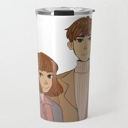 Bong soon and Min hyuk Travel Mug