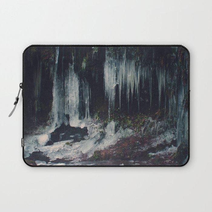 Ice Spikes Laptop Sleeve