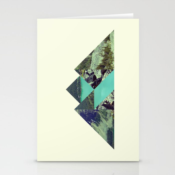 Mountain Lake Stationery Cards