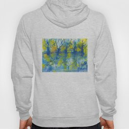 By the lake watercolor Hoody