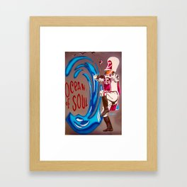 Texas Southern Uni. Framed Art Print