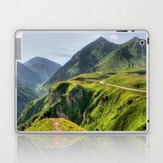 Mountains, green, gigantic, steep and rolling Laptop & iPad Skin