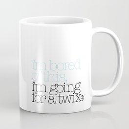 I'm bored of this, I'm going for a Twix Coffee Mug