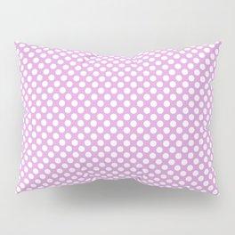 Polka Dots Pattern-Violet Pillow Sham