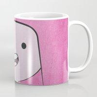princess bubblegum Mugs featuring Princess Bubblegum by Some_Designs