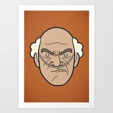 Faces of Breaking Bad: Hector Salamanca Art Print