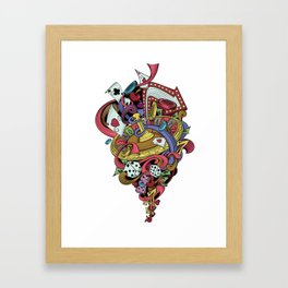 Gambling World Framed Art Print
