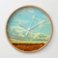 Shooting the Breeze 2.0 Wall Clock