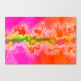 Crocodile Skin Artwork  Canvas Print