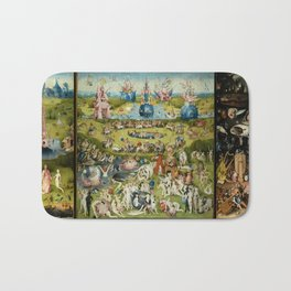 The Garden of Earthly Delights Bath Mat