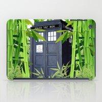tardis iPad Cases featuring Tardis by tanduksapi