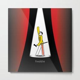 Freddie at the Opera Metal Print