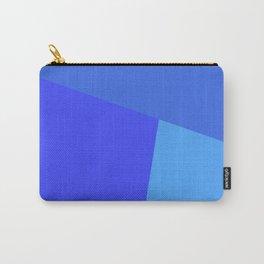 dégradé trapèze bleu roi Carry-All Pouch