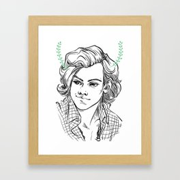 Satyr Framed Art Print