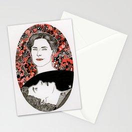 BBC Sherlock fan art: the woman who beat you Stationery Cards