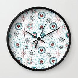Christmas Nordic de Lite - CNDL004 Wall Clock