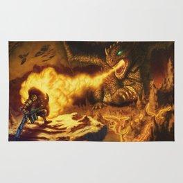 The Dragon Slayer Rug