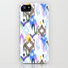 Ornament. Weaving ikat iPhone Case