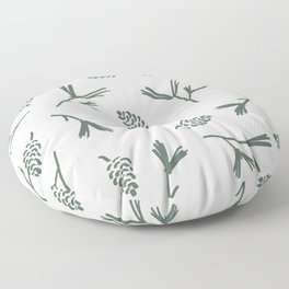 Pinecone Print Floor Pillow