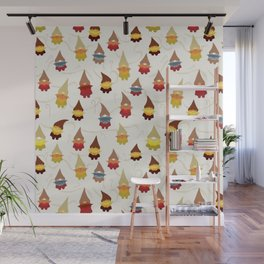 Gnome pattern 1d Wall Mural
