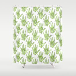 Palmistry Shower Curtain