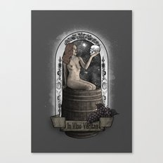 In Vino Veritas Canvas Print