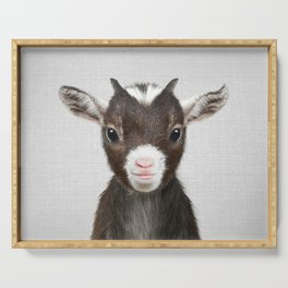 Baby Goat - Colorful Serving Tray