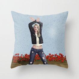 Lyric Throw Pillow