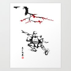 Eastern Storm Art Print