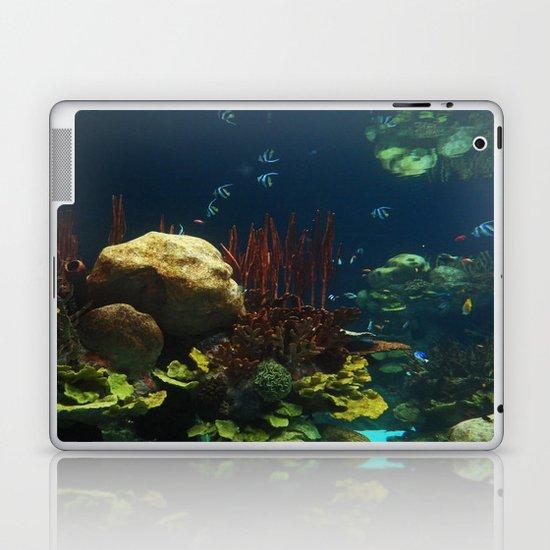 In  the Aquarium Laptop & iPad Skin
