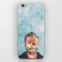 jesse pinkman iPhone & iPod Skins featuring Pinkman by Miguel Velez