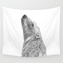 Polar bear Wall Tapestry