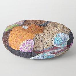 Dry Fruits - Morocco Market Floor Pillow