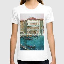 Yoshida Hiroshi - Canals In Venice - Digital Remastered Edition T-shirt