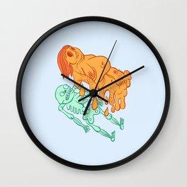 Skinned Three Wall Clock