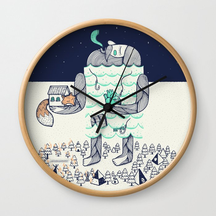 Arrivals Wall Clock