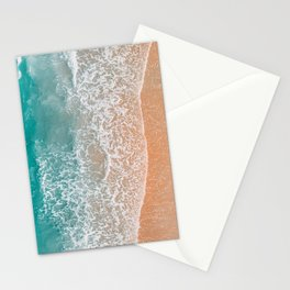 Teal Ocean Beach Bliss Stationery Cards