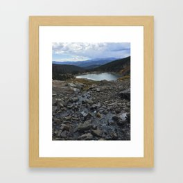 St. Mary's Glacier Framed Art Print