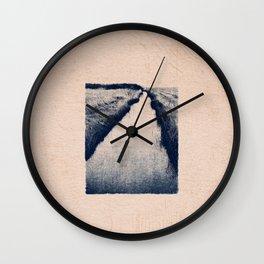 CLASSIC BLUE / At the Creek Wall Clock