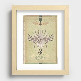 3REAL Recessed Framed Print