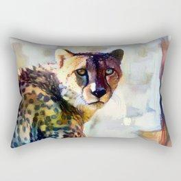 Your Cheetah Eyes Rectangular Pillow