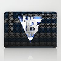 greece iPad Cases featuring bitcoin Greece by seb mcnulty