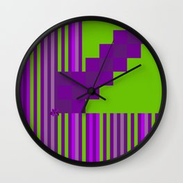 Playing with Colors Wall Clock