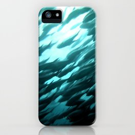 Thousands of jack fish iPhone Case