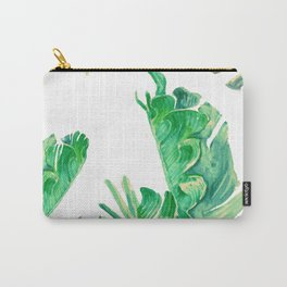 tropical watercolor Carry-All Pouch