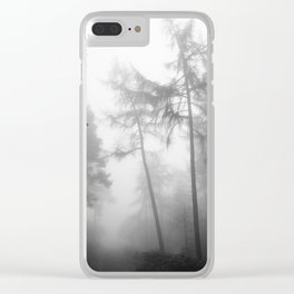 TROUGHT THE FOREST Clear iPhone Case