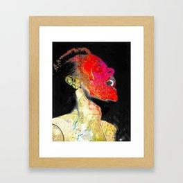 Billie Holiday Singing Singer Music Jazz Framed Art Print