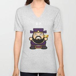 Dong Zhou T Shirt Unisex V-Neck