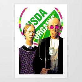 Cash Crop Pop Art Print