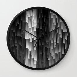 Fringe (Black and White) Wall Clock
